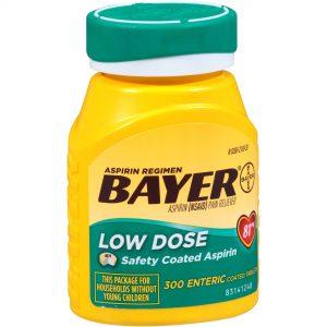 Baby Aspirin for dog fever, Joint pain, arthritis