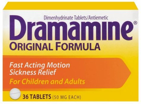 can i give my dog dramamine for nausea