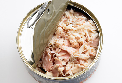 Is it safe to eat tuna from a can