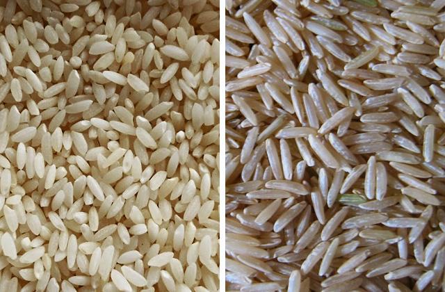 Brown rice Vs long bastmati rice
