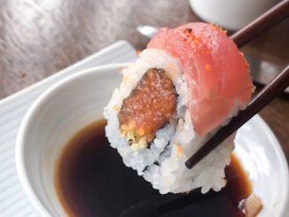 can dogs eat tuna sushi