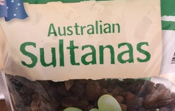 My dog loves eating sultanas. Should I be worrried